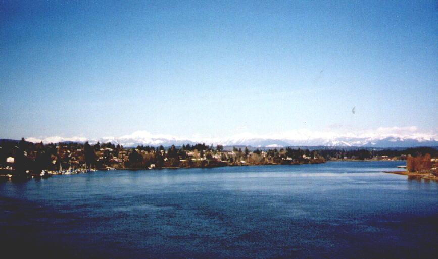 View from Warren Ave. Bridge, Bremerton